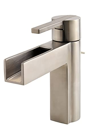 Pfister F042VGKK Vega Single Control 4 Inch Centerset Bathroom Faucet in  Brushed Nickel. Pfister F042VGKK Vega Single Control 4 Inch Centerset Bathroom
