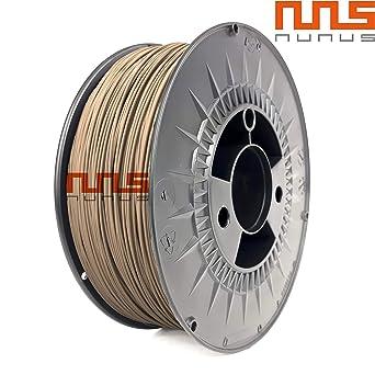 NuNus PLA Filamento 1 kg – 1,75 mm o 3,00 mm Grosor * Premium ...