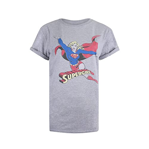 DC Comics Retro SuperGirl, T-Shirt Donna