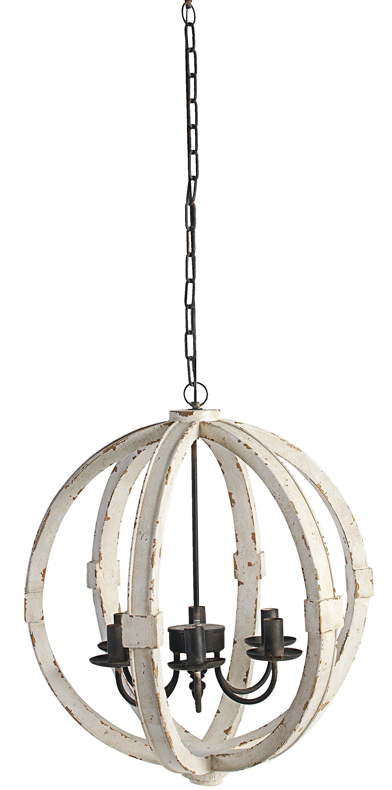 A&B Home Calder Wooden Chandelier, 22.5 x 26'' by A&B Home