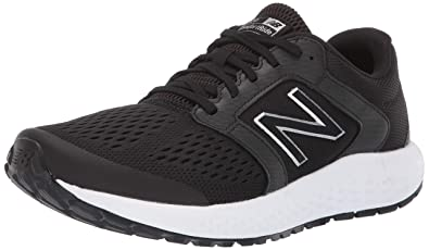new balance black trainers mens