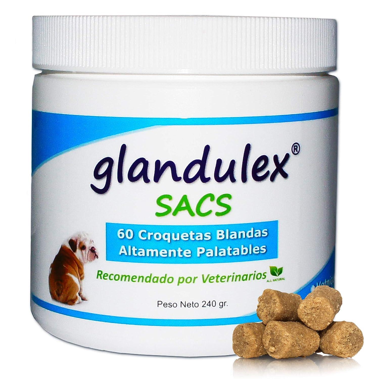 JTPharma Glandulex Sacs - 60 Croquetas 340 g: Amazon.es: Productos ...