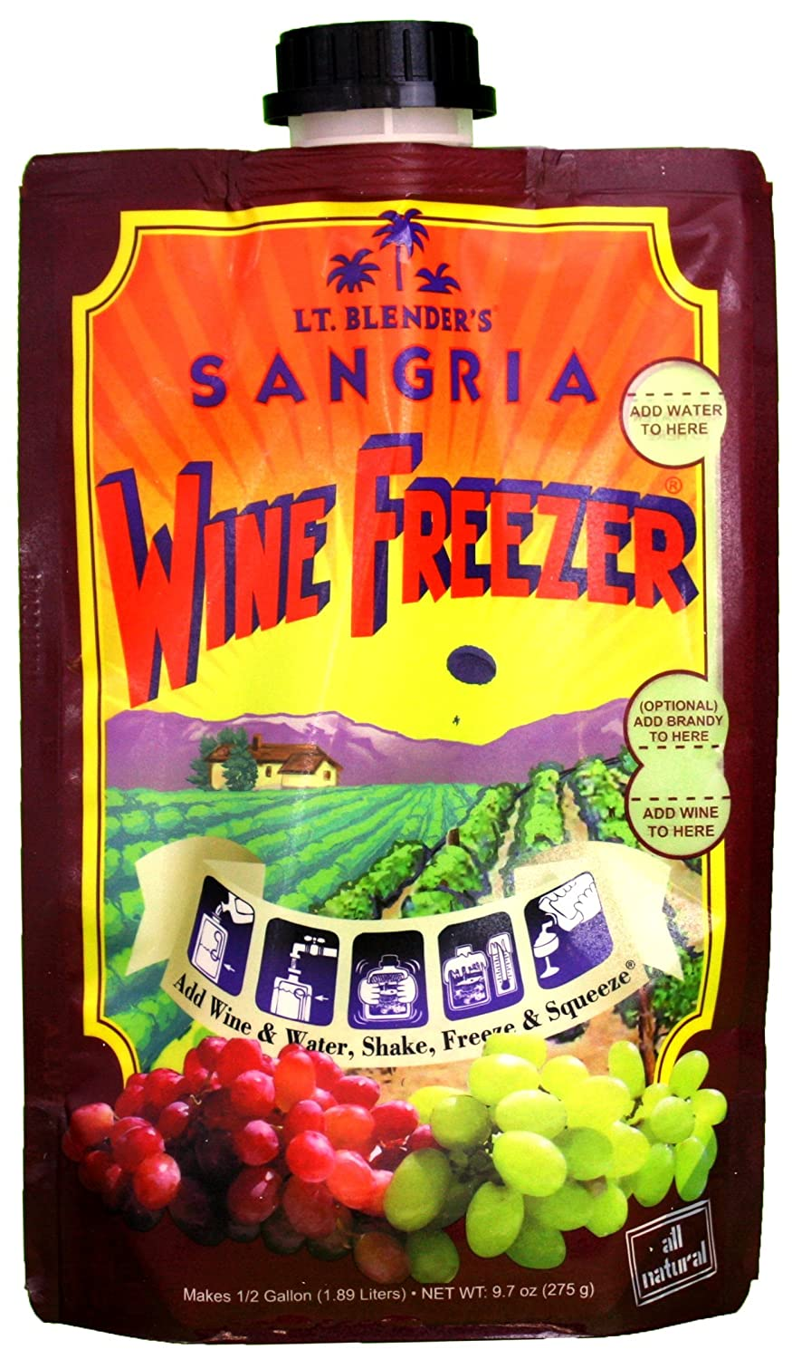 Lt. Blender's Wine Freezer Sangria, 9.7-Ounce Pouch (3)