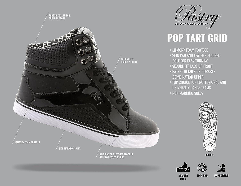 3d63d90e3 Amazon.com | Pastry POP Tart Grid Adult Sneaker | Fashion Sneakers