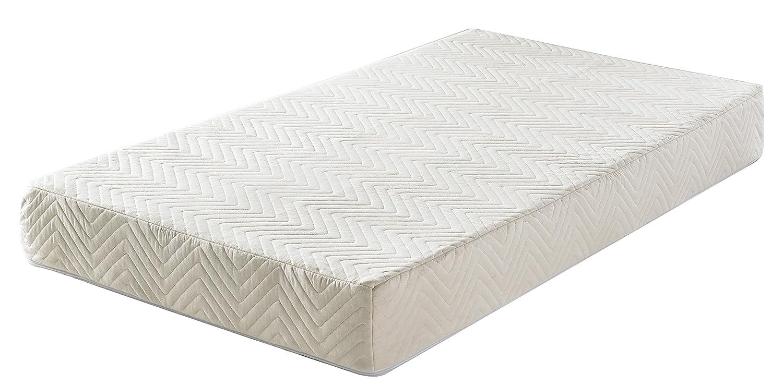 amazon com primrose organic 2 in 1 4 5 crib mattress green buds