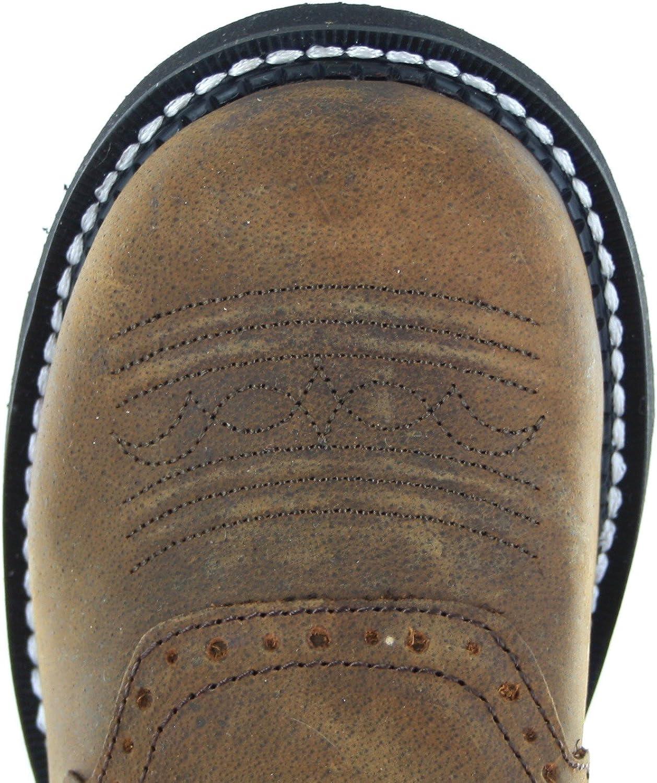 Justin Boots L9907, Bottes et Bottines Cowboy Femme Brun