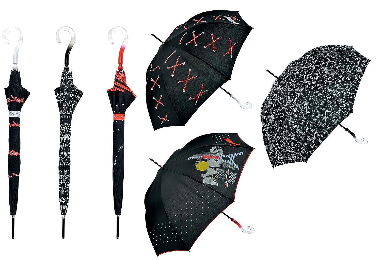Paraguas Largo Automático (Varios Colores) - Joy Heart: Amazon.es: Electrónica