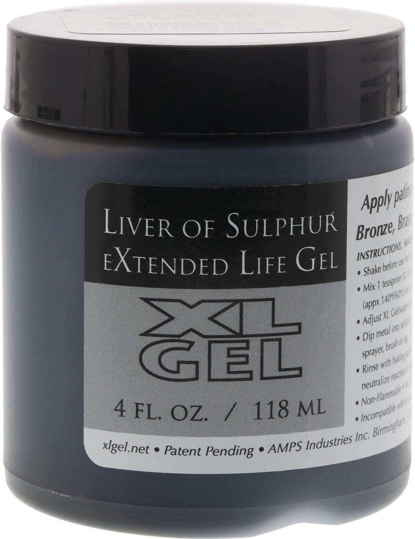 Liver Of Sulfur Gel- 4oz - SOL-610.04 XL Gel