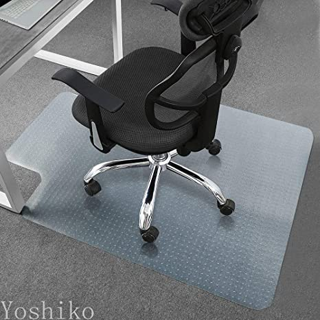 Heavy Duty Carpet Chair Mat Thick and Sturdy Transparent Chair mat for Low and Medium Pile & Amazon.com : Heavy Duty Carpet Chair Mat Thick and Sturdy ...