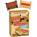 Larabar Minis Fruit and Nut Bar, Peanut Butter Chocolate Chip and Peanut Butter Cookie, 0.78 oz (Pack of 8)