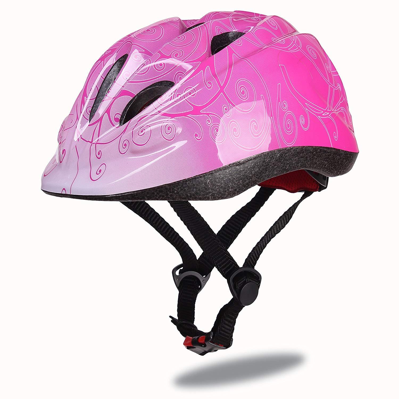 Dostar Kinder Bike Helm Helm – verstellbar Helm Helm Fahrrad Scooter polysportive Langlebig Kid Fahrrad Helme Jungen und Mädchen Love – CSPC zertifiziert für Sicherheit und Komfort dc64f5