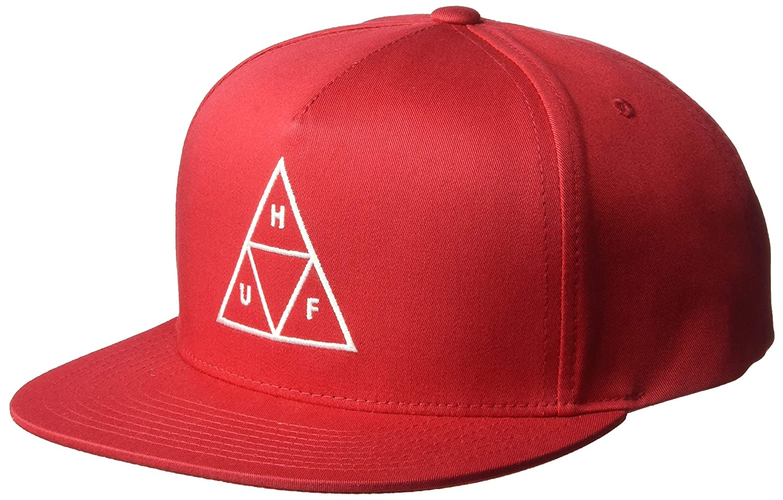 HUF Gorra Triple Triangle Escarlata - Ajustable: Amazon.es: Ropa y ...