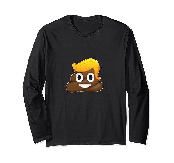 81DdoBs3oBL._UX562_ amazon com donald trump poop emoji t shirt funny meme clothing