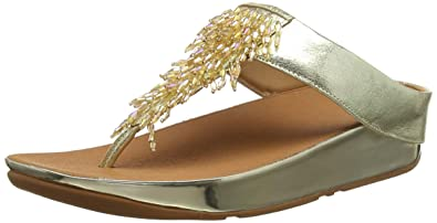 1e3f7c395e30 Fitflop Women s Rumba Toe-Thong Sandals Open  Amazon.co.uk  Shoes   Bags