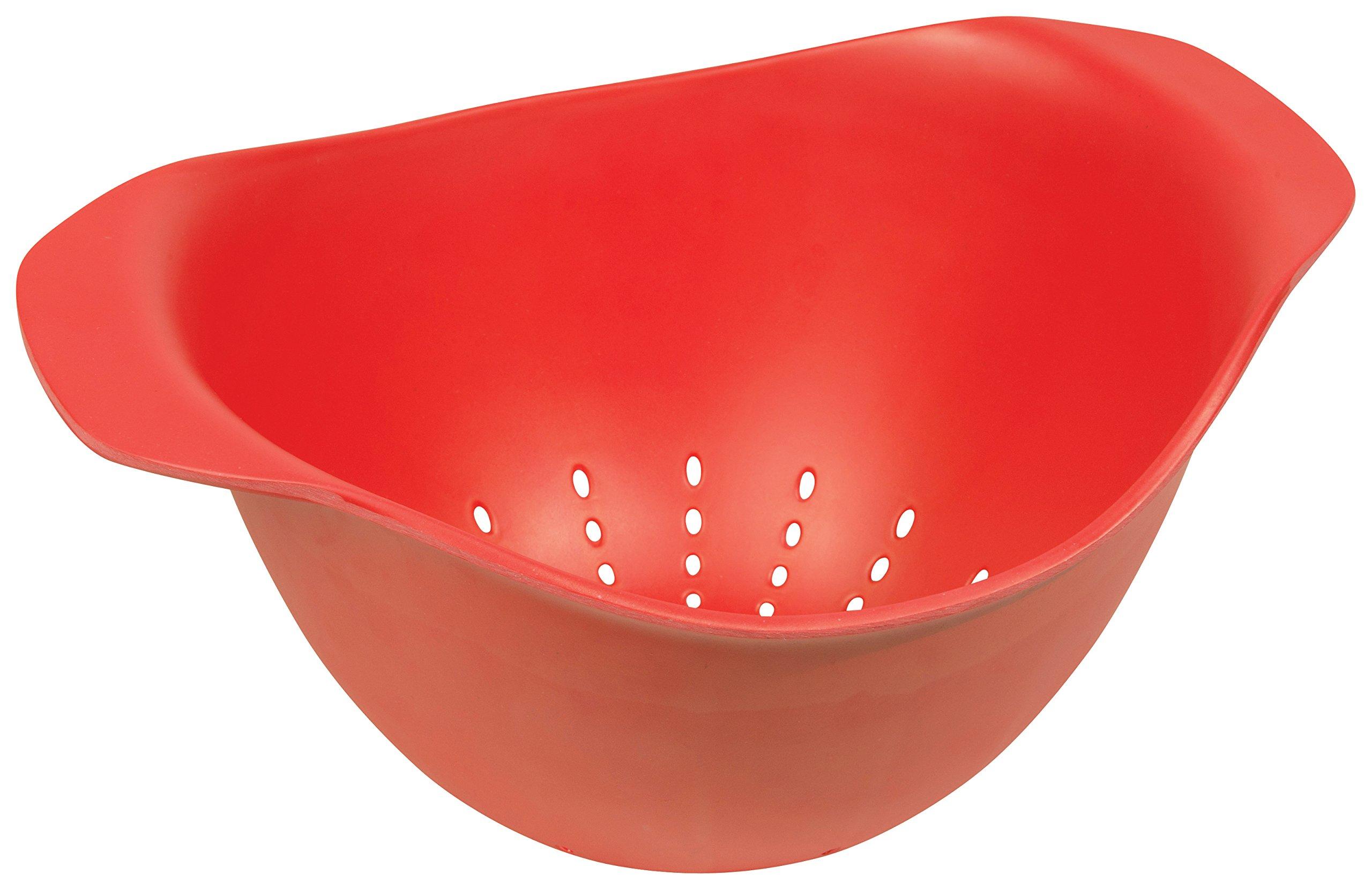 Now Designs Ecologie Colander, Red