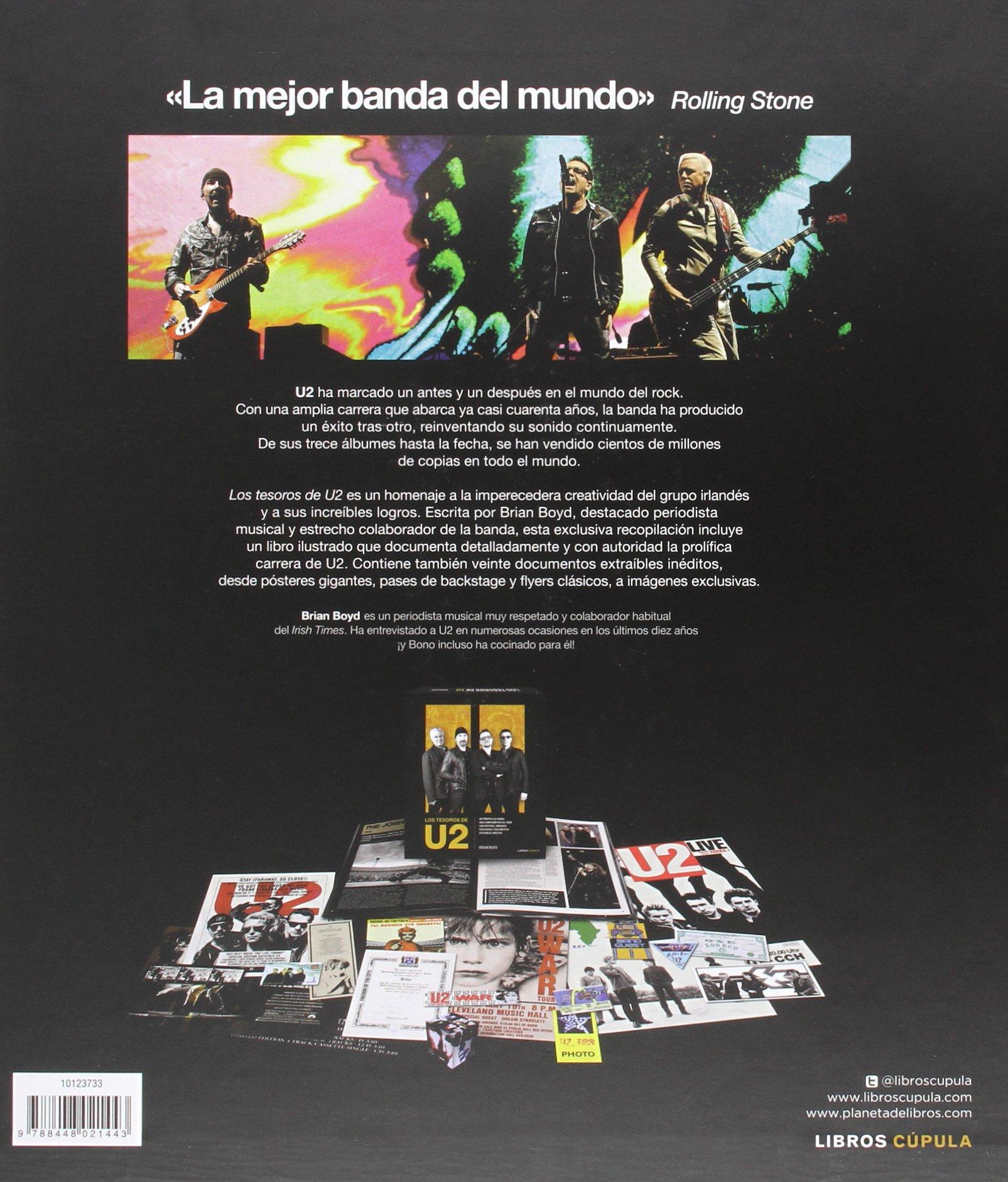 Los tesoros de U2 (Música y cine): Amazon.es: Boyd, Brian, Òrbita gràfica per publicacions S.L.: Libros