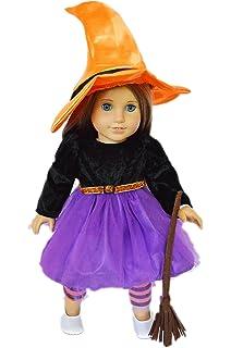 my brittanys spider witch halloween costume for american girl dolls - Spider Witch Halloween Costume