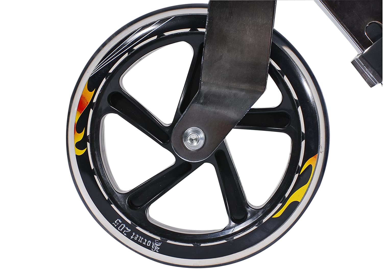 Hudora 14680 Hornet Top Wheel 205 - Patinete con Ruedas de ...