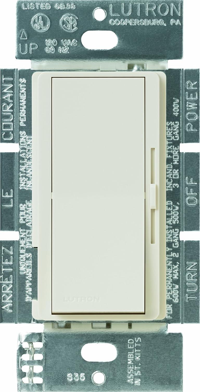 LUTRON(ルートロン) ディーバ 3段階変速ファンコントローラ 1.5A 単極3投 DVFSQ-F-LA 1 B000MOGWBA Light Almond Light Almond