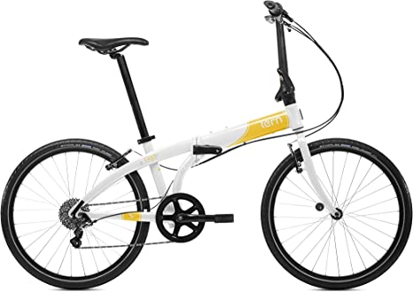 Tern Node D8 - Bicicleta Plegable, Color Blanco: Amazon.es ...
