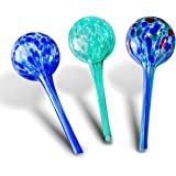 Gardening Solutions Hydro Globes Mini Automatic Watering Bulbs, 3 Piece Deluxe Set
