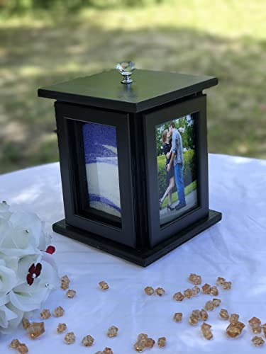 Amazoncom Sand Ceremony Rotating Photo Frame Set Handmade