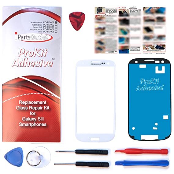 e8ae04bd9d39b8 Image Unavailable. Image not available for. Color: S3 ProKit for Samsung  Galaxy S3 Screen Glass Lens Repair Kit ...