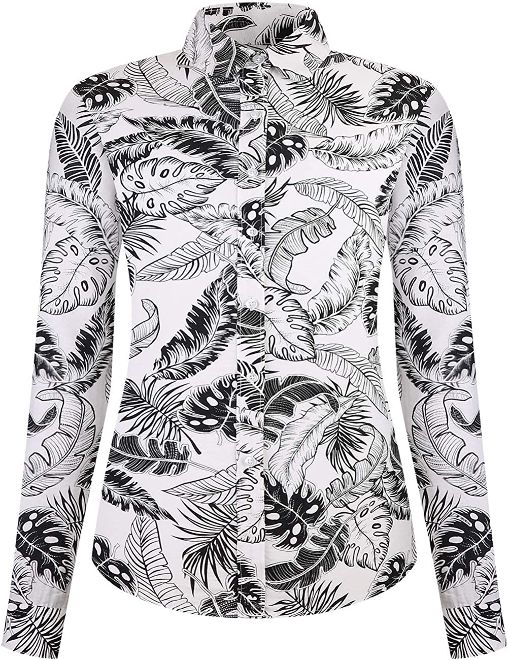 Tropical Leaves with Three Flamingos Pattern Printed Baby Boys Kids Crew Neck Sweater Long Sleeve Soft Knit Sweatshirt