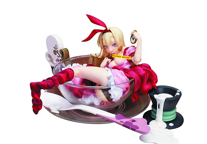 AAA Anime Native Epicurious Alice 1 7 Scale Painted Figura