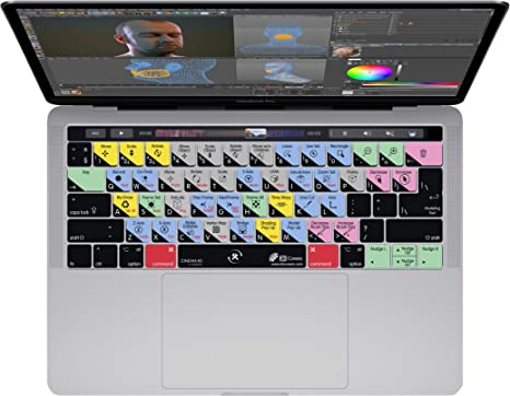 Keyboard Cover for French Canadian Language fits Apple MacBook Pro 13 /& 15 inch w//Touch Bar Late 2016+ KBCovers