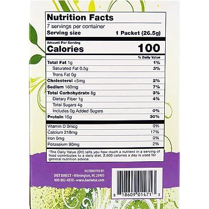 BariWise batido de proteínas para dieta: Amazon.com: Grocery ...