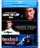 Triple Feature: Above the Law/ Under Siege/ Under Siege 2 [Blu-ray]