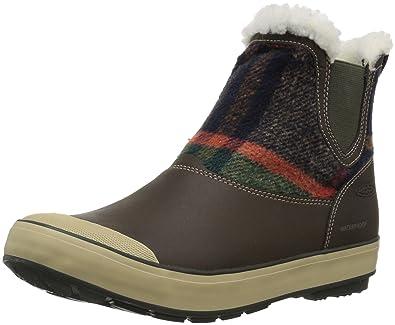 Keen Damen Elsa Chelsea WP Trekking-& Wanderstiefel, Braun (Coffee Bean Wool), 42 EU