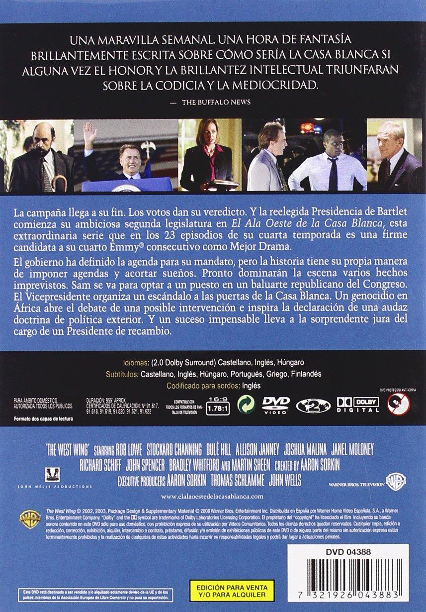 El Ala Oeste De La Casa Blanca Temporada 4 [DVD]: Amazon.es ...