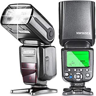 Flash para cámara de fotos NEEWER® NW985N I-TTL, 4-Color TFT, con ...