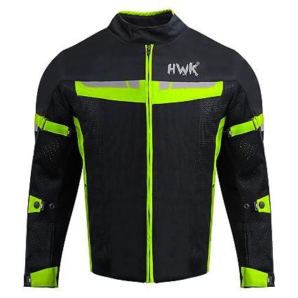 42af11204d1da Amazon.com  HWK Mesh Motorcycle Jacket Riding Air Motorbike Jacket Biker CE  Armored Breathable (Medium