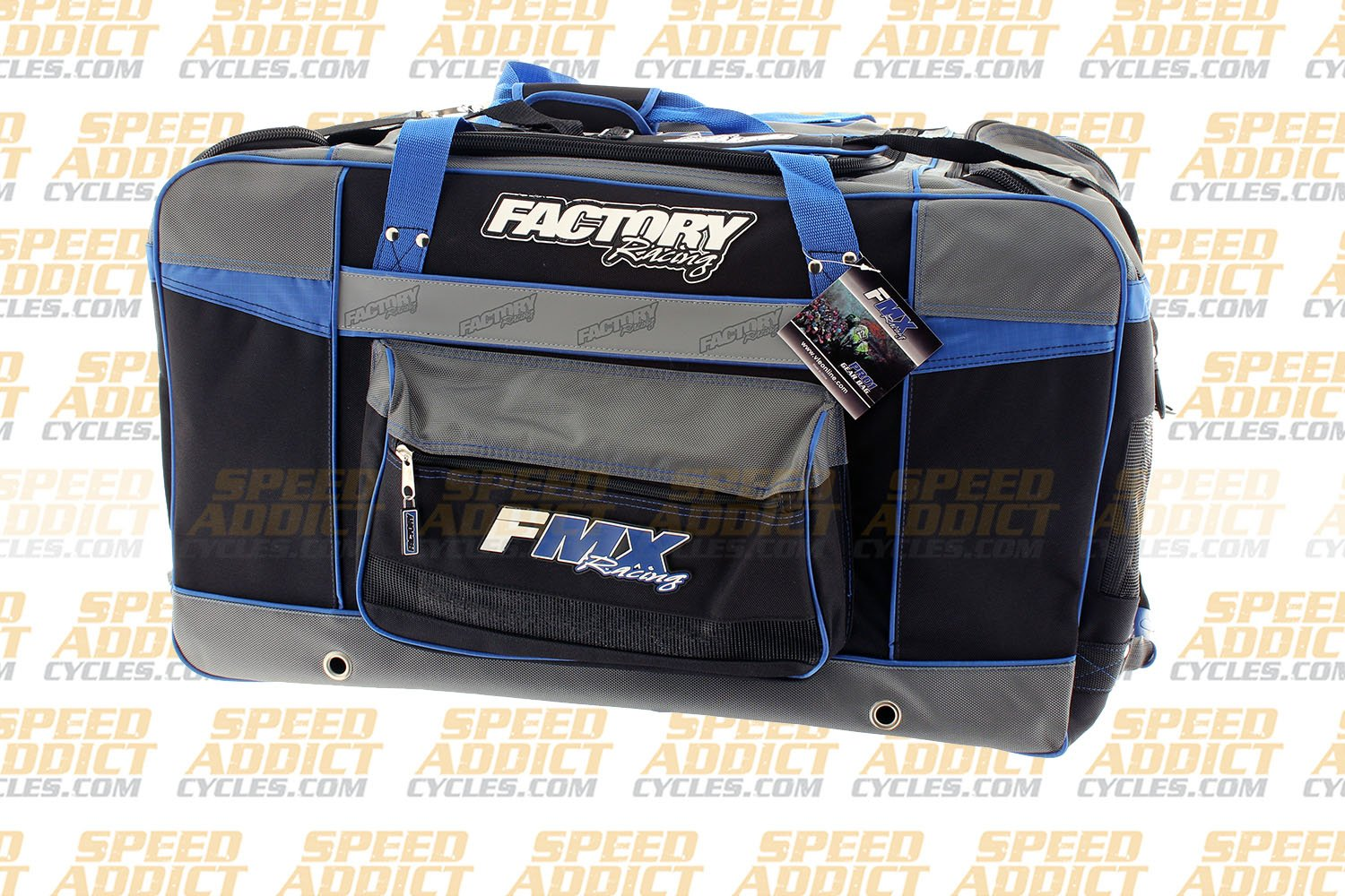 Factory FMX Motorcross Gear Bag XLarge Blue by Factory Racing (Image #2)