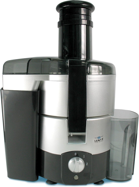 Lentz Home Juice King 600 Entsafter 600 W silberschwarz