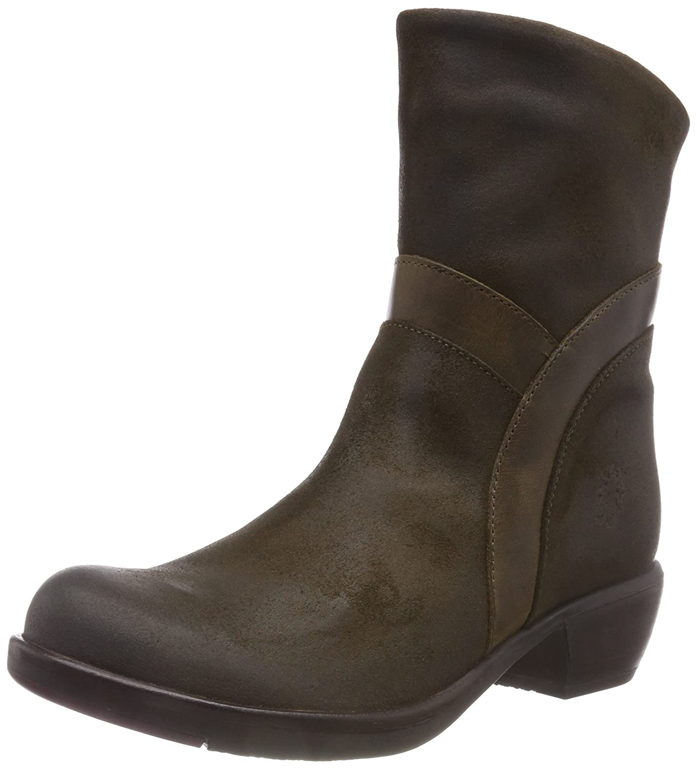 Fly London Damen Mobu383fly Mobu383fly Mobu383fly Kurzschaft Stiefel 69fee8