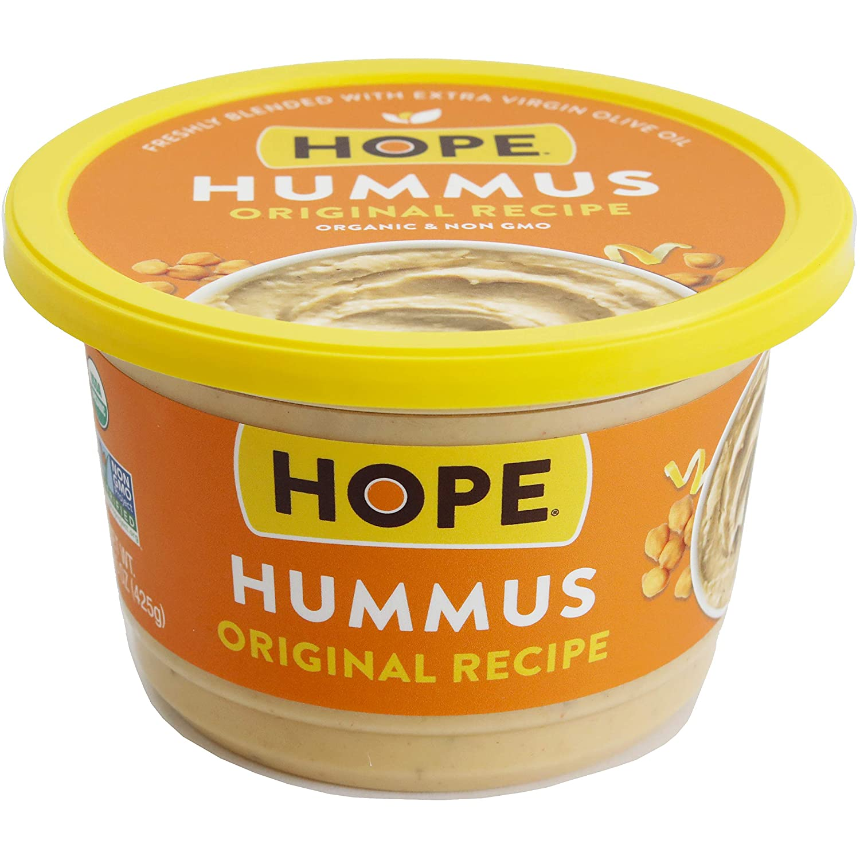 Hope Foods Organic Original Recipe Hummus, 15 oz
