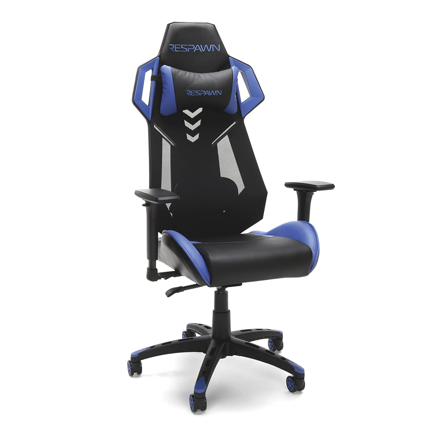 Terrific Respawn 200 Racing Style Gaming Chair In Blue Rsp 200 Blu Short Links Chair Design For Home Short Linksinfo