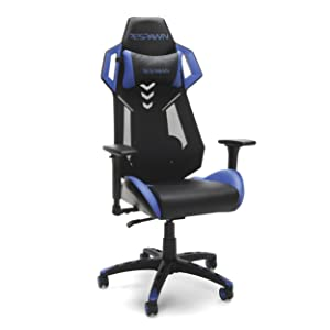 RESPAWN-200 Racing Style Gaming Chair - Ergonomic Performance Mesh Back Chair, Office or Gaming Chair (RSP-200-BLU)