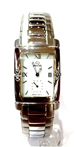 Jaguar J608/2 - Reloj de Pulsera, Correa de Acero Inoxidable Color Plata: Amazon.es: Relojes