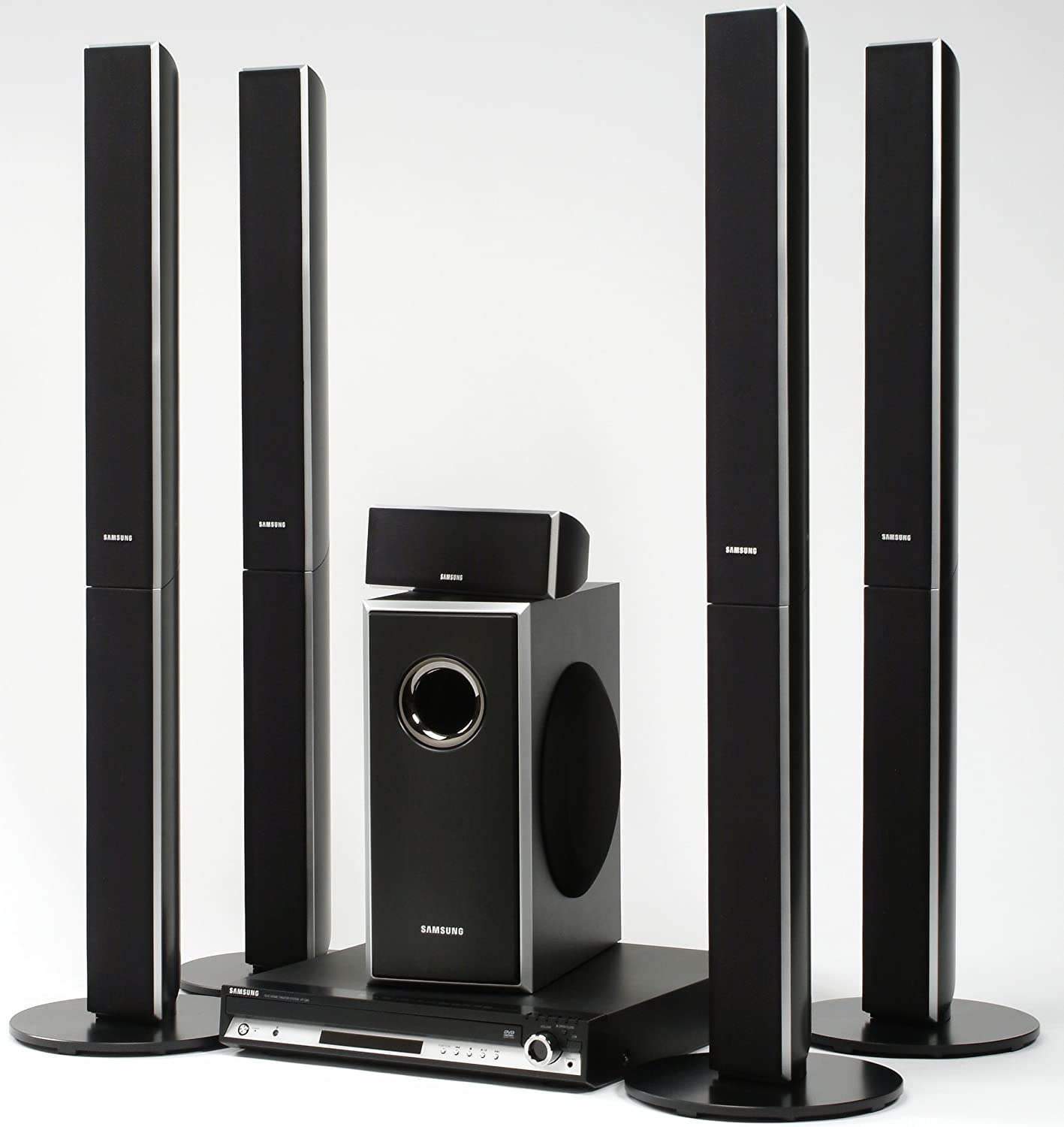 sony home theater wireless price. Amazon.com: Samsung HT-TQ85 XM-Ready Five-Disc DVD Changer Home Theater System (5.1 Channel): Electronics Sony Wireless Price