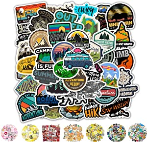 Vinyl Stickers, Cool Laptop Sticker 50 Packs, Water Bottles Stickers for Adult Women Teens Girls Boys Hippie Graffiti Bomb Pack Stickers Trendy Stickers for Laptop Hydro Flask Skateboard