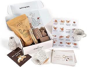 Crockd DIY Pottery Kit (Air Dry & Ceramic)