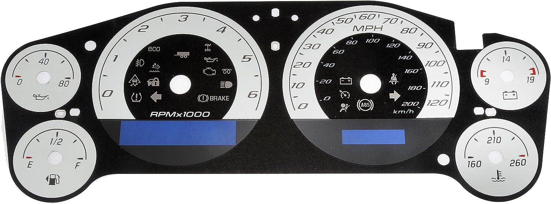 Dorman 10-0111B Instrument Cluster Upgrade Kit for Select Chevrolet//GMC Models