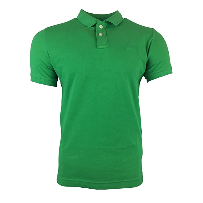 POLO SUPERDRY M11MT009F3-DKM VINTAGE VERDE XXL Verde: Amazon.es ...
