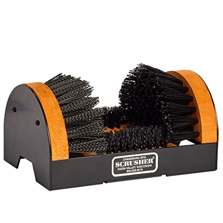 Scrusher Boot  amp; Shoe Brush Safety Shoes available at Amazon for Rs.5905