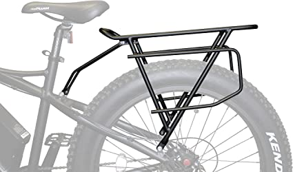 Amazon Com Rambo Bikes Extra Large Cargo Luggage Rear Bike Rack Black R150 Sports Outdoors